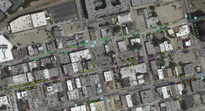 GIS Map of Trees in Deep Ellum